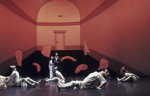 Giselle, Choreographed by Mats Ek, 1982 © Lesley Leslie-Spinks