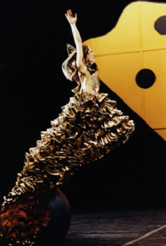 Carmen, Choreographed by Mats Ek, 1992 © Lesley Leslie-Spinks