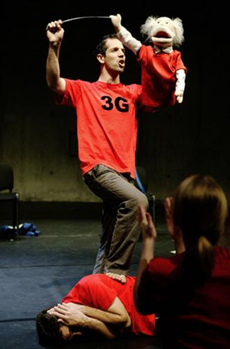 Dritte Generation, Schaubühne, 2009 © Heiko Schäfer