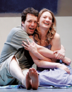 Bryan Close and Heidi Schreck in Instructions for Breathing written by Caridad Svich, 2009 © Cie Stroud, Passage Theatre of New Jersey (USA)