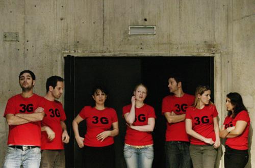 Dritte Generation, Yousef Sweid, Schaubühne, 2009 © Heiko Schäfer