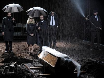 Hamlet directed by Thomas Ostermeier (Schaubühne, Berlin)