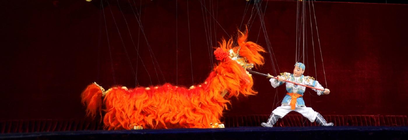 Quanzhou Marionette troupe