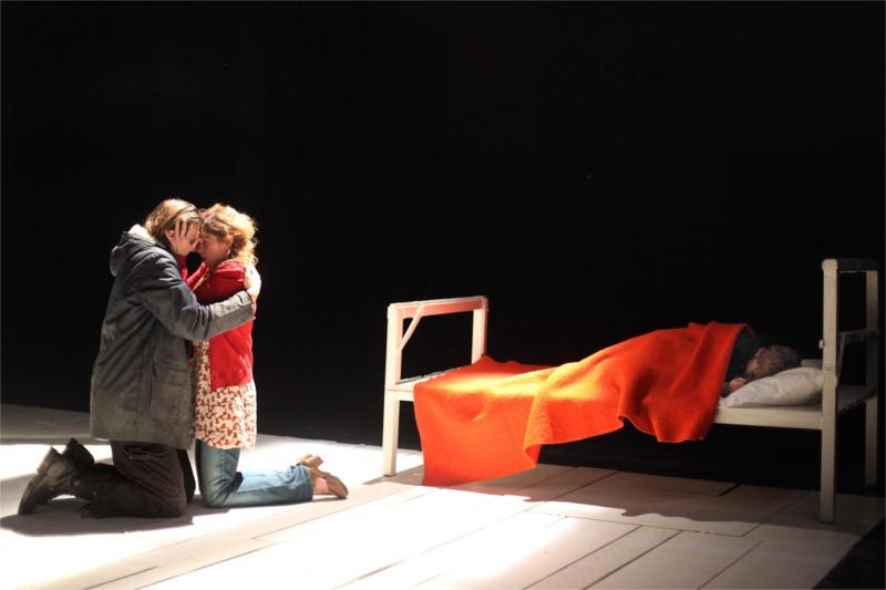 Hiver, written by Zinnie Harris, directed by Guy Pierre Coulaud at Théâtre de la Tempête, 2011 © C. Urbain