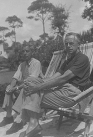 George Jean Nathan with Eugene O'Neill © College of Arts and Sciences, Cornell University