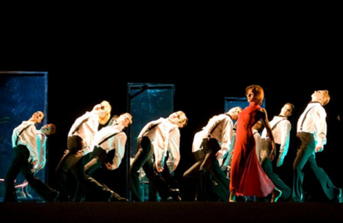 Tango of Life by the National Operetta Theatre in Kyev, Ukraine, is a love story with twenty dancers © TNO