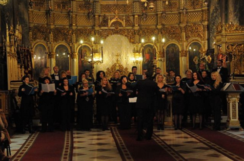 TNO choir, conducted by Gabriel Popescu