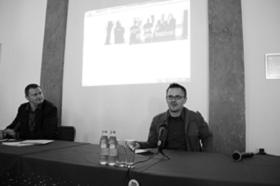 Krištof Jacek Kozak (moderator), Primož Jesenko (chair)