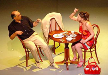 Locusts, written by Biljana Srbljanović, directed by Dejan Mizač, Yugoslav Drama Theater, Belgrade