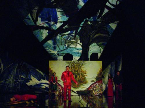 Le Vrai Sang, mise en scène de Valère Novarina (1/11), Théâtre de l'Odéon Alain Fonteray