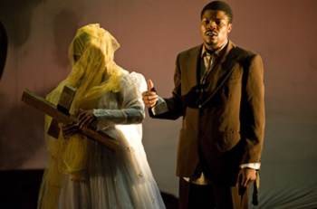 Faniswa Yisa and Thando Doni, photographed by Hannes Thiart. The tragic wedding of kindred souls.
