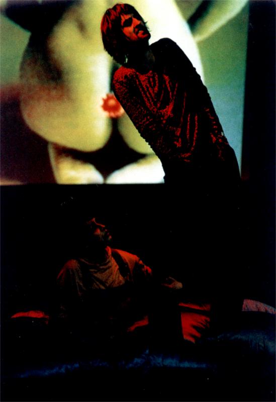 Kalina Naumovska and Kiril Pop Hristov in Shopping and Fucking by Mark Ravenhill, directed by Srdjan Janićijević at Macedonia National Theatre in Skjope (Macedonia) © Kire Galevski