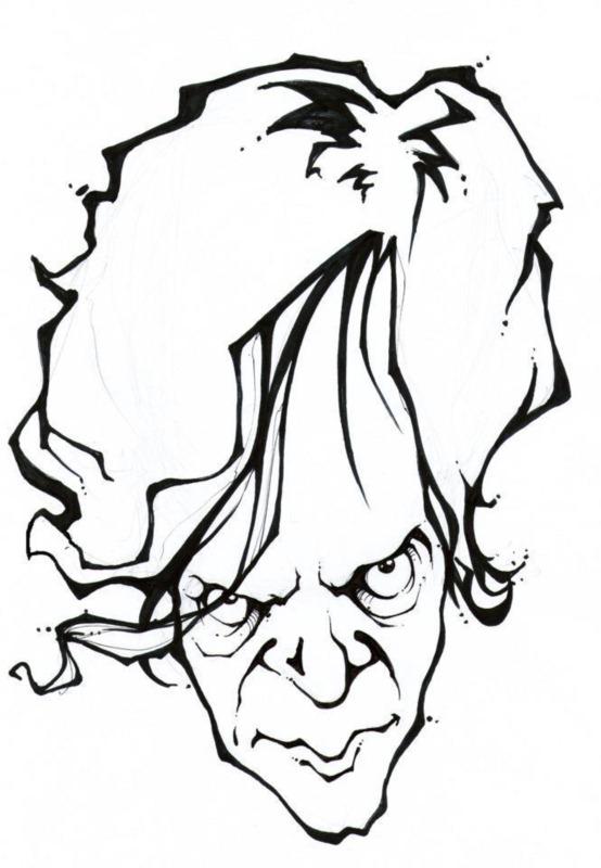 Caricature of Srdjan Janićijević © Srdjan Janićijević