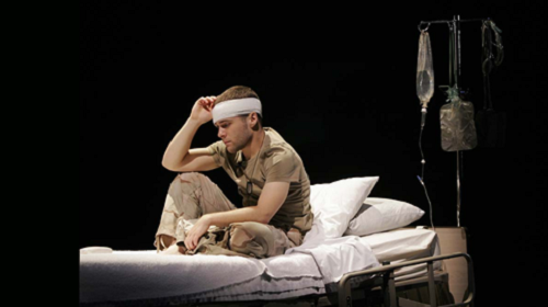 Daniel Zaitchik in Prayer for My Enemy written by Craig Lucas and directed by Bartlett Sher at Intiman Theatre in Seattle, Washington (USA), 2007 © Chris Bennion