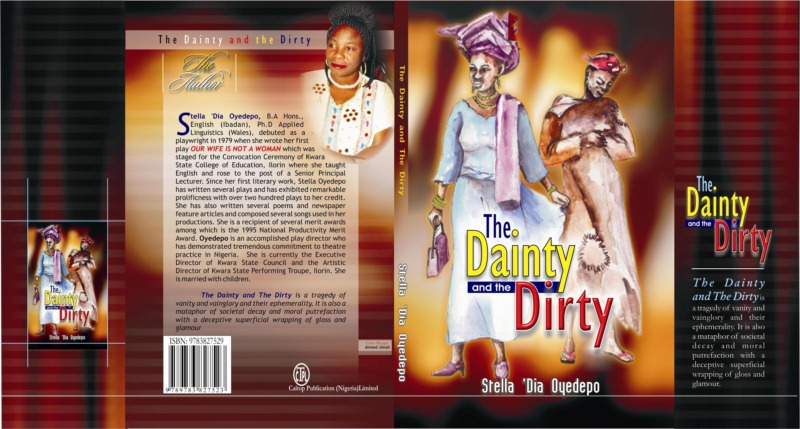 Book cover for Stella 'Dia Oyedpo's play The Dainty and The Dirty © Courtesy of Oyedepo