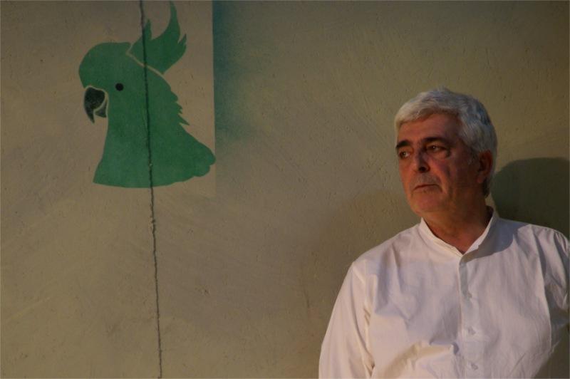 Luís Miguel Cintra, in The Green Cockatoo, by Arthur Schnitzler, dir. Luís Miguel Cintra, Teatro da Cornucópia & Teatro Nacional D. Maria II, 2011 © Luís Santos.