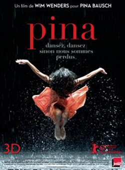 The poster of the Wim Wenders film on Pina Bausch.
