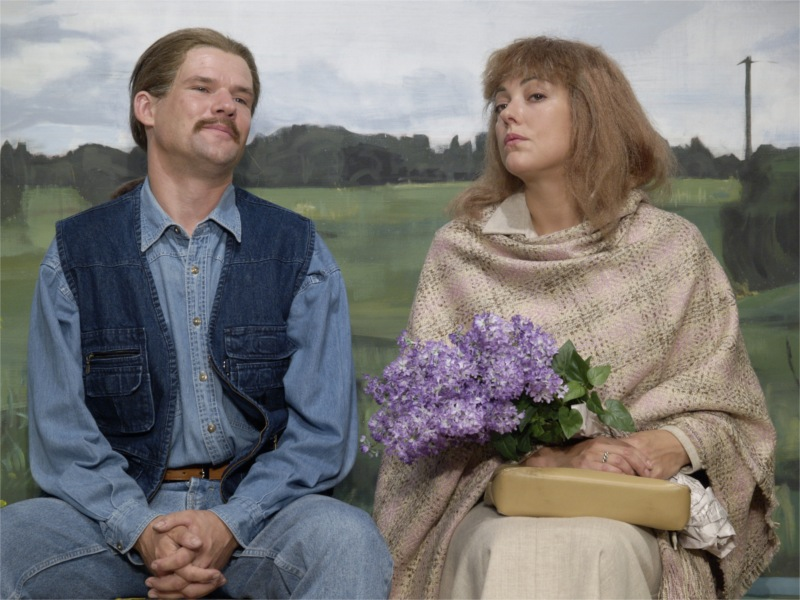 Vilis Daudziņš and Baiba Broka in Latvian Love, dir. Alvis Hermanis. New Riga Theatre, 2006 © Gints Mālderis.