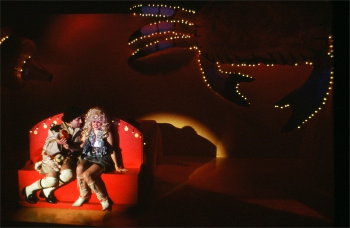 Steven Rattazzi and Nicole Lowrance in Red Frogs written by Ruth Margraff and directed by Elyse Singer for Hourglass Group at P.S. 122 in New York City (USA) © Courtesy of Ruth Margraff, February 2002
