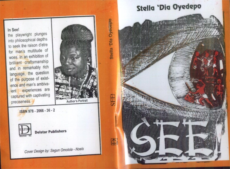 Book cover for Stella 'Dia Oyedpo's play See! © Courtesy of Oyedpo