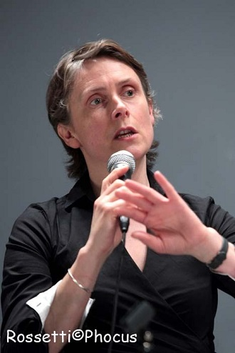 Katie Mitchell of the UK was awarded a New Theatrical Realities Prize.