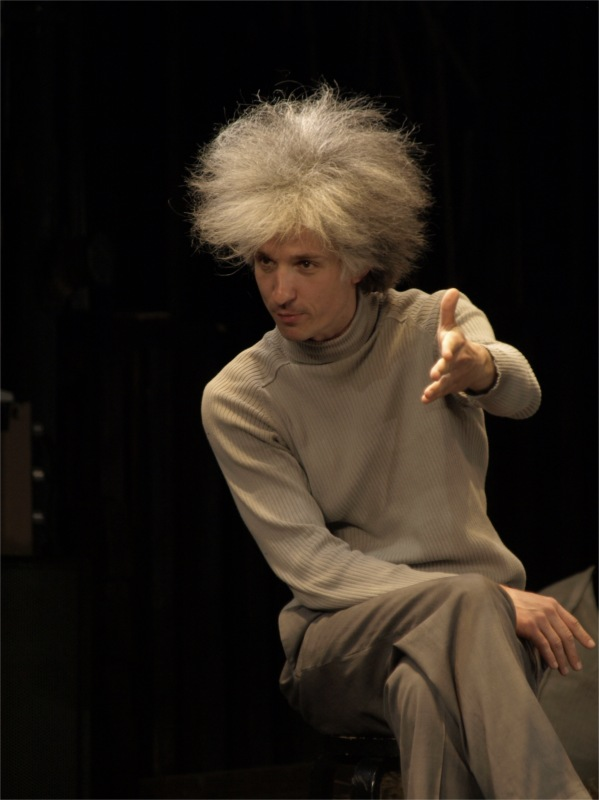 Kaspars Znotiņš in Ziedonis and the Universe, dir. Alvis Hermanis. New Riga Theatre, 2010 © Gints Mālderis.