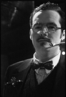 """Tim Maner in The Elektra Fugues by Ruth Margraff produced by HERE Arts Center's """"Opera Project""""/Tiny Mythic Theatre Company in New York City (USA) © Photos courtesy of Nancy Brous, 1996"""