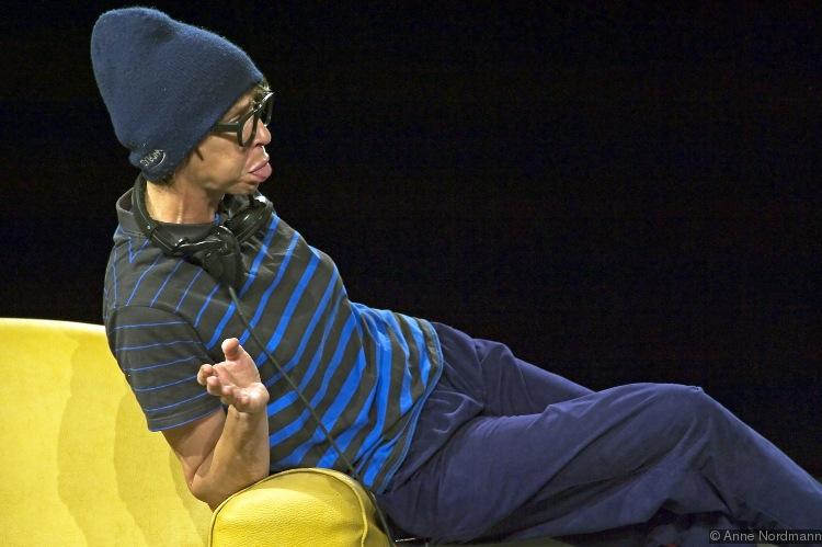 «Cassé» de Rémi De Vos; mise en scène par Christophe Rauck; Théâtre Gérard-Philipe, Saint-Denis, France © Ann Nordmann, Janvier 2012