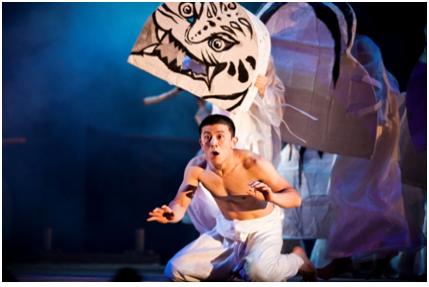 La punition : Le jeu des lions. Photo © Hanguk Performing Arts Center(HanPAC)