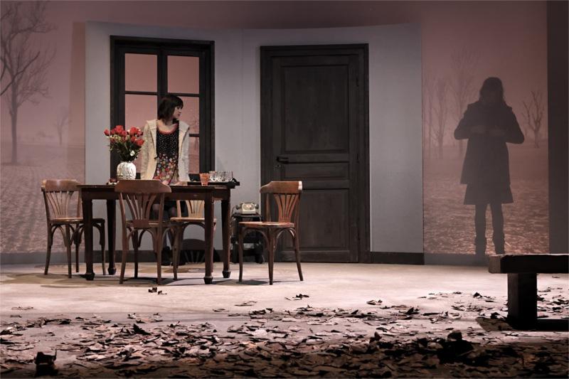 La maladie de la famille M de Fausto Paravidino. Mise en scène de Fausto Paravidino. Théâtre du Vieux Colombier, 2011 © Christophe Raynaud de Lage.
