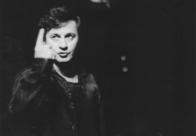 "Ion Caramitru in ""Hamlet,"" written by William Shakespeare, directed by Alexandru Tocilescu at the Bulandra Theatre in Bucharest, Romania © Personal archives of Caramitru, 1985"