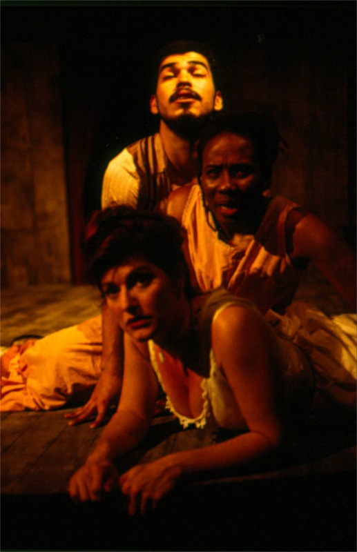 """Heavenly Shades of Night Are Falling,"" written by Erik Ehn as part of ""Soulographie: Our Genocides,"" a performance cycle, directed by Daniel Alexander Jones, produced at Frontera in Austin, Texas (USA), 2009. © Photo by Daniel Alexander Jones"