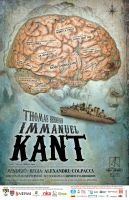 The poster of the Kant performance.