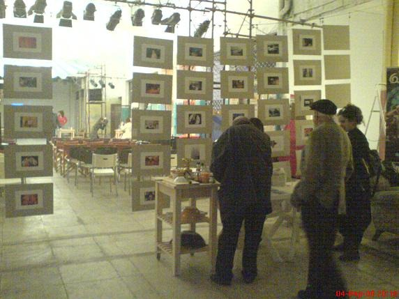 From the site-specific work of the Arab Israeli Cook Book in Athens (2011).
