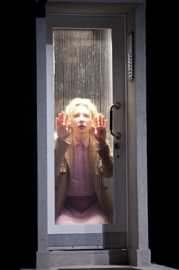 The phone booth scene with Cate Blanchettin Sydney Theatre Company's Big and Small.