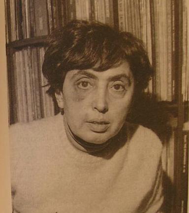 Monica Lovinescu after the attack in 1977