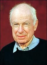 Peter Brook the director of the Grand Inquisitor and the recipient of the Festival's Award for Excellence in Theatre