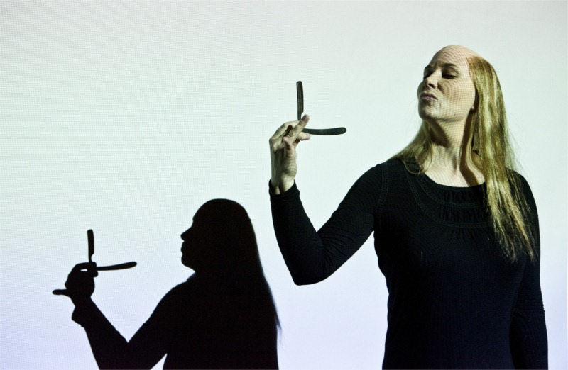 Anna Pettersson plays multiple roles in Miss Julie, aided by Max Marklund's camerawork.