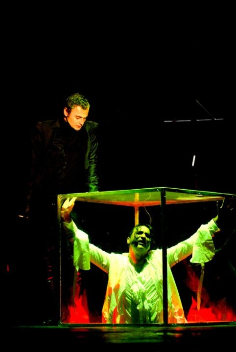 """""""Dracula"""" written and directed by Dejan Dukovski at Macedonia National Theater, 2011. © Photo Courtesy of Macedonia National Theater."""