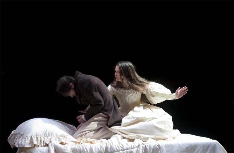« Hernani » de Victor Hugo, mis en scène par Nicolas Lormeau pour la Comédie-Française, Janvier 2013 © Brigitte Enguérand