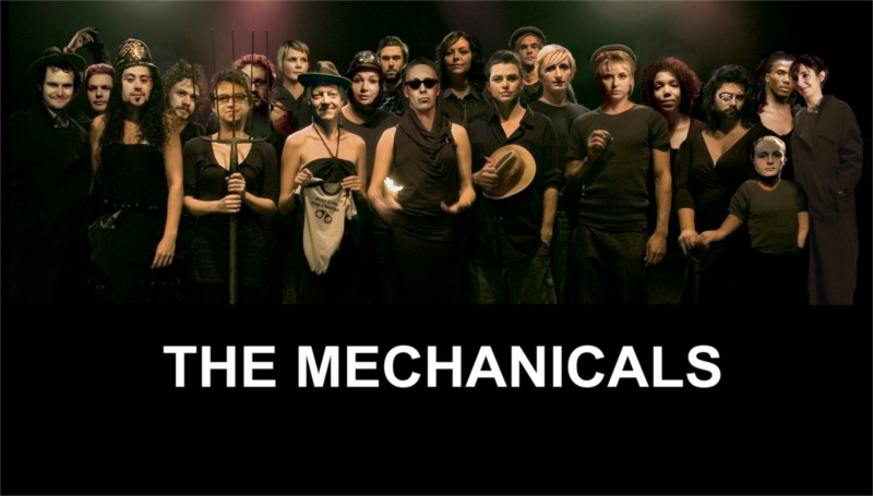 The Mechanicals company consists of mature, professional actors, younger actors, graduates of the university of Cape Town, and seasoned drama lecturers.