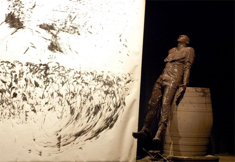 """Les Corbeaux,"" directed by Josef Nadji © Rémi Angeli."
