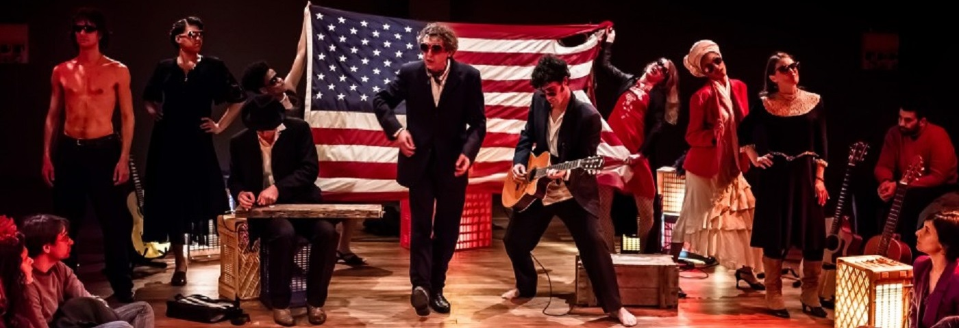 """""""I Am America"""" – directed by Mario Biagini with the participation of the Open Program team, The Workcenter of Jerzy Grotowski and Thomas Richards"""