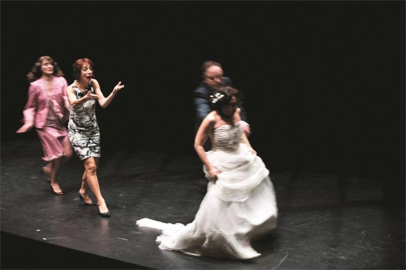 « La réunification des deux Corées » de Joël Pommerat, présentée au Théâtre de l'Odéon-Ateliers Berthier, en janvier 2013. Photo : Elsabeth Carecchio.