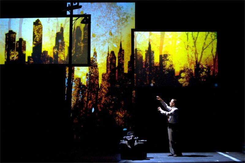 """""""Muerte de un viajante."""" Teatro Español. Jordi Boixaderas. Directed by Mario Gas."""