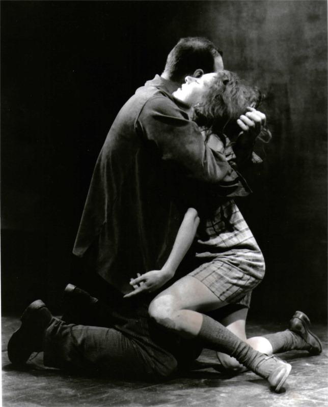 « Le désir de Gobi » by Suzie Bastien, directed by Pierre Bernard, Théâtre de Quat'sous, Montral (Canada), 2000. © Courtesy of S. Bastien