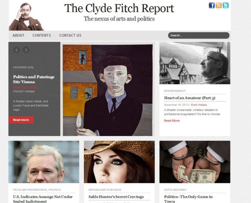 The Clyde Fitch Report