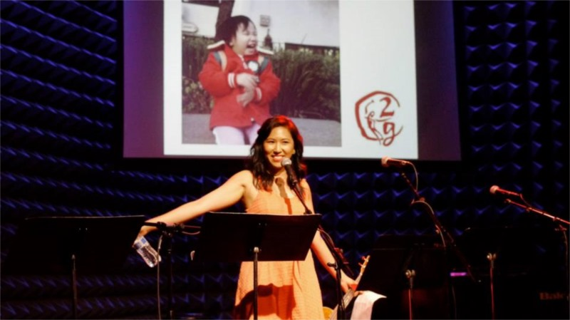 "Jen Kwok at ""2G: Sixteen Going on Seventeen"" at Joe's Pub © Courtesy of 2g"