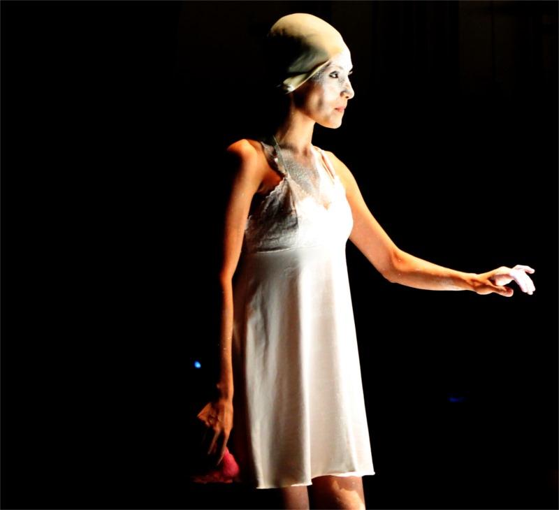 Camila Rocha as Juliet in Diego Aramburo's posh drug version of the Shakespearen classic.